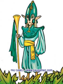 Ilustración Alfil Elfo - by Pau Gámez