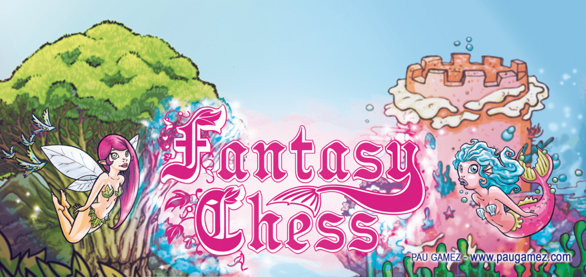 Ilustración banner Fantasy Chess - by Pau Gámez
