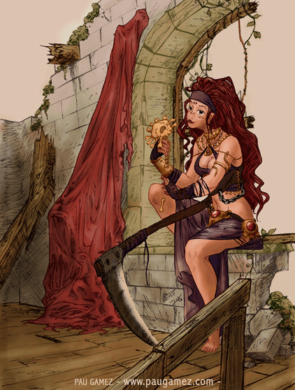Ilustración Historias Efímeras - portada - by Pau Gámez