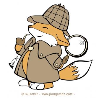 Ilustración Holmes, el zorro detective