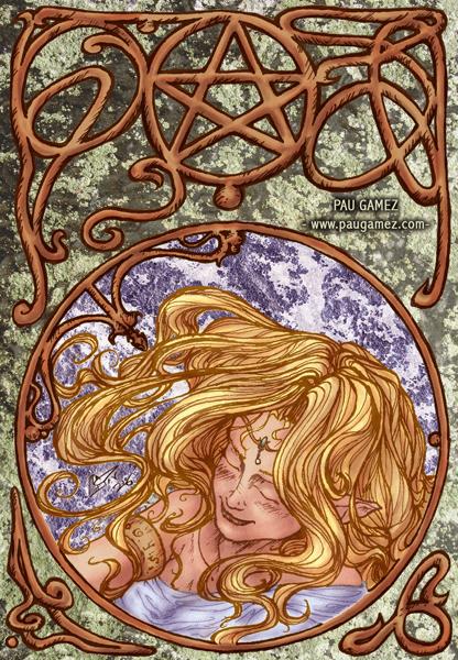 Ilustración Musa - by Pau Gámez