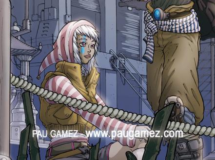 Ilustración Nuevos Horizontes - by Pau Gámez
