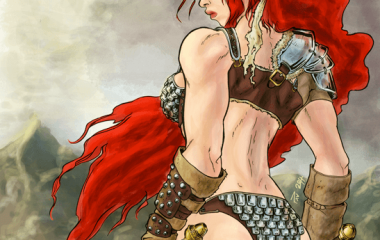 Fanart Red Sonja - by Pau Gámez