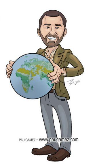 Caricatura Iago - by Pau Gámez