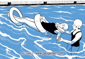 Serie Monsa-Prayma - ejercicios en el agua - by Pau Gámez