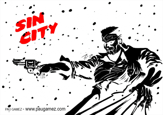 Fanart Sin City - by Pau Gámez
