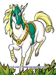 Ilustración Unicornio - by Pau Gámez
