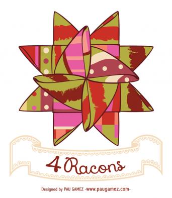 Imagotipo 4 Racons - by Pau Gámez