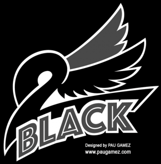 Imagotipo versión negra 2 Black - by Pau Gámez