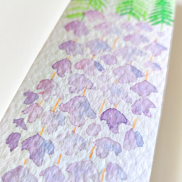 Watercolors bookmak fuji by paugamez