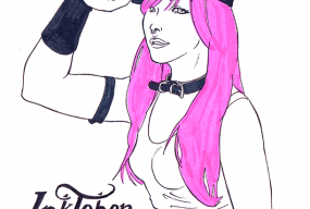 inktober 2015 Katrina Fox by Pau Gamez