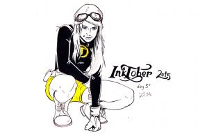 inktober 2015 Hendo by Pau Gamez