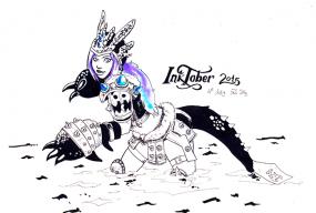 inktober 2015 Gladzy Kei by Pau Gamez