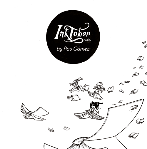 inktober 2016 cover - by Pau Gamez