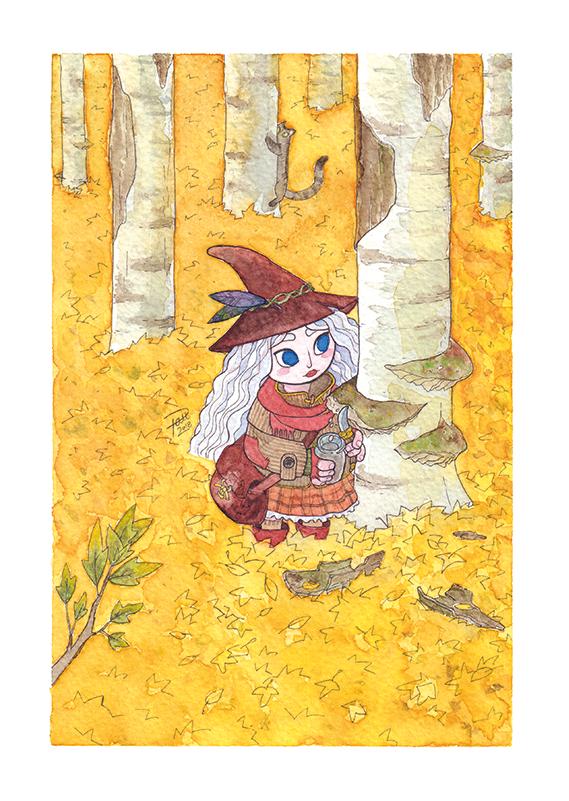 Witch apprentice by Pau Gamez