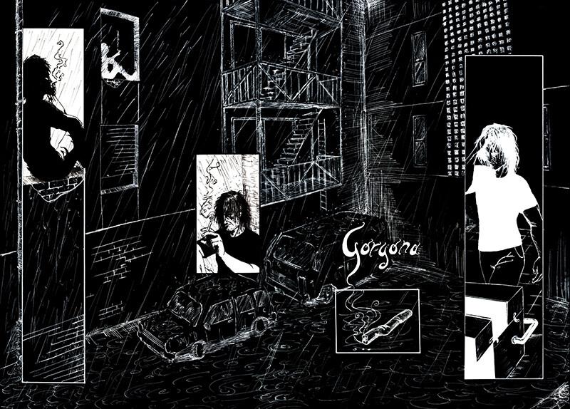 Historias Efímeras - Gorgona 1/4 - by Pau Gamez