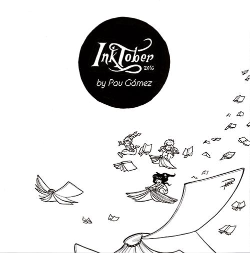 inktober 2016 cover - by Pau Gamez