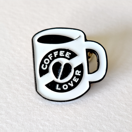 coffee lover pin by pau gamez