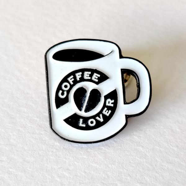 coffee lover pin by pau gamez