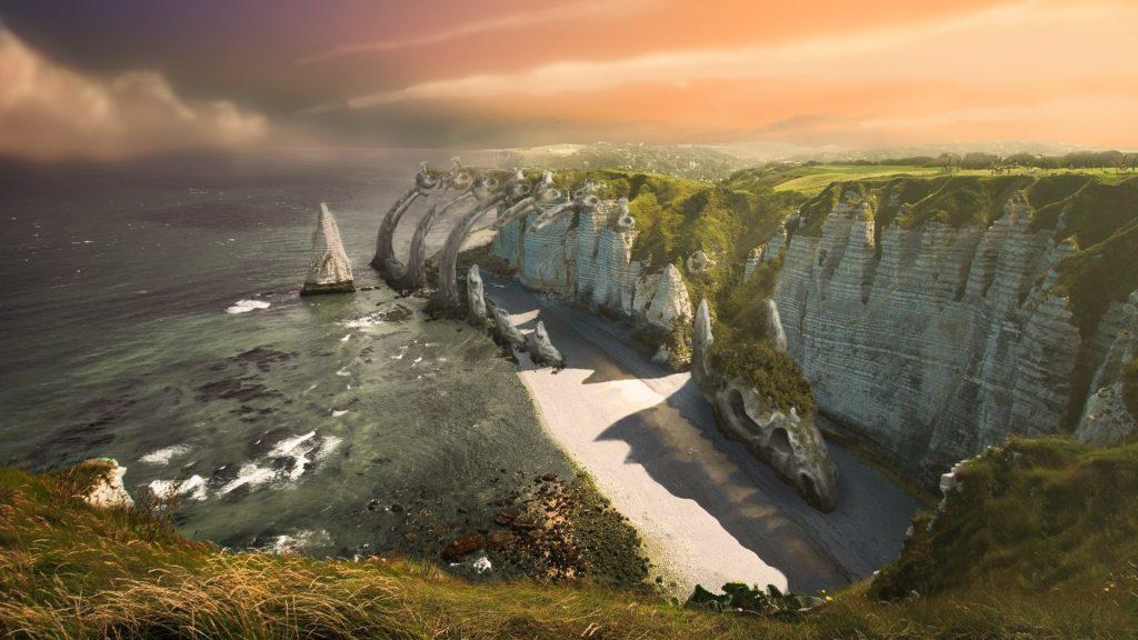 dragon cliffs by pau gamez