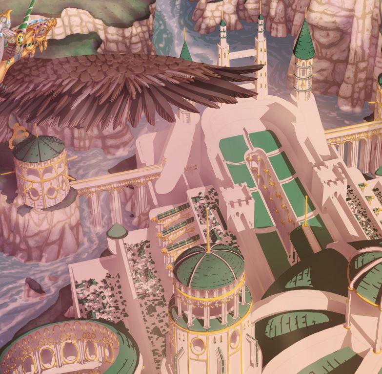 Eagle riders - citadel detail