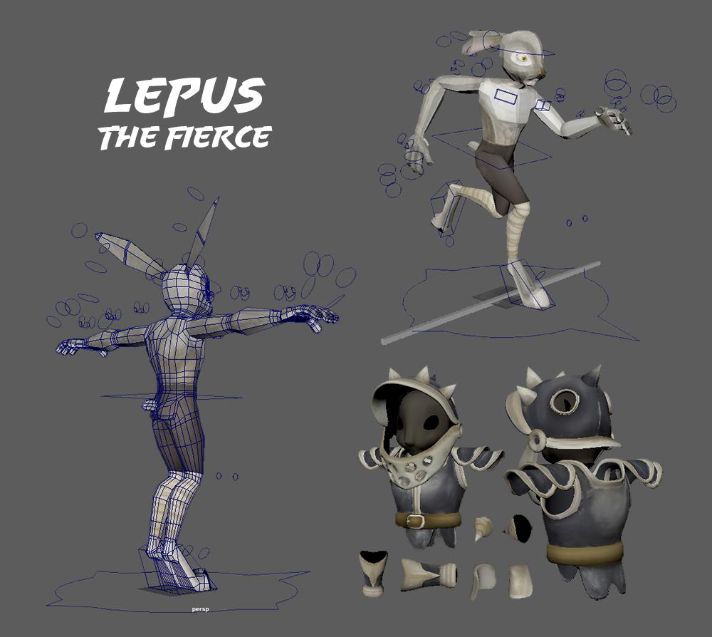 Lepus the fierce