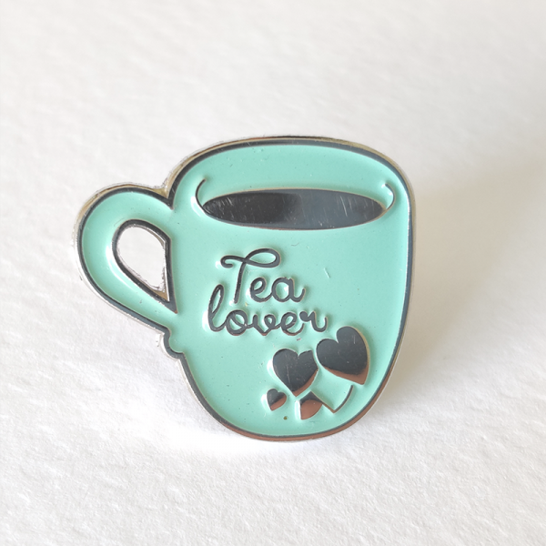 Tea lover pin by pau gamez