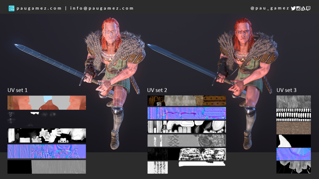 Record of Lodos War - Lady of Pharis -Beld wireframe + sets- by paugamez