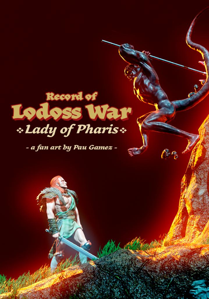 Record of Lodoss War fan art cover