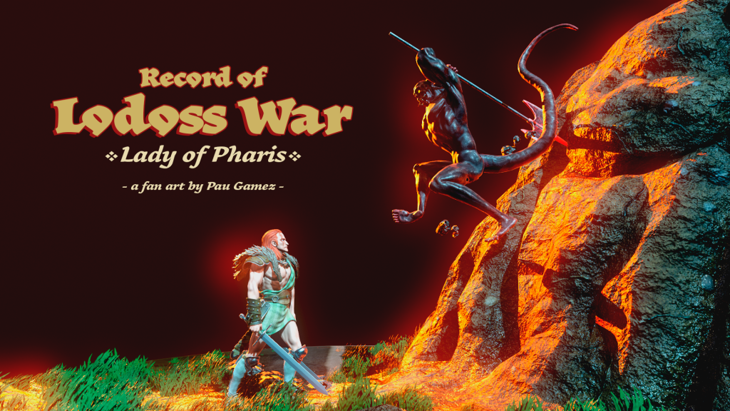 Record of Lodos War - Lady of Pharis full cover by paugamez