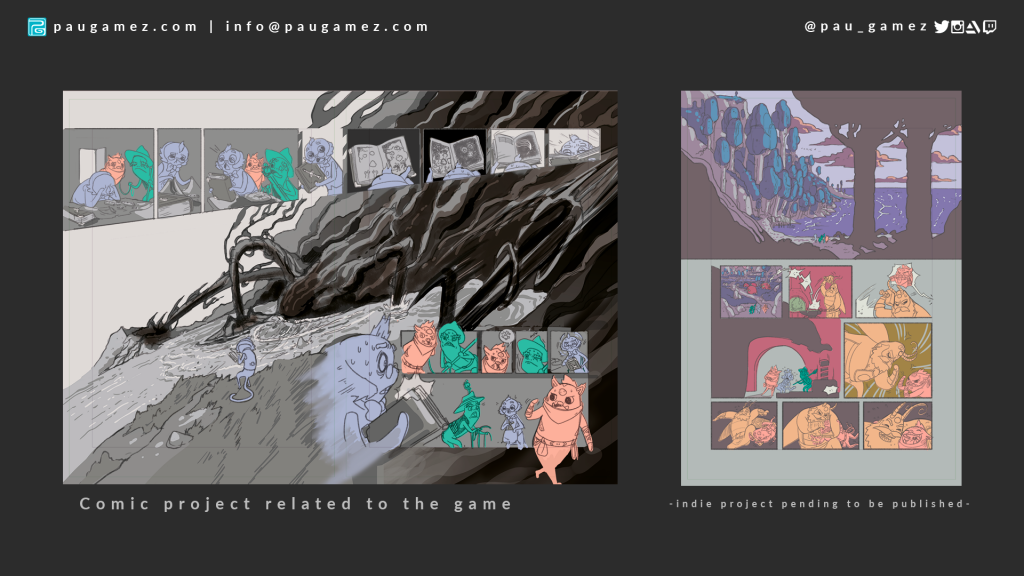 indie game comic pages
